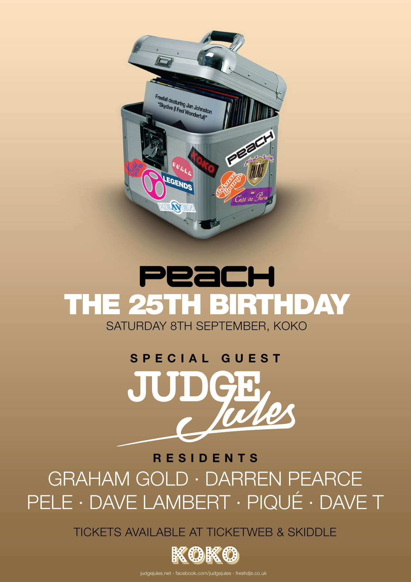 0530df576 Graham Gold » PEACH 25TH BIRTHDAY SET LINKS! Myself